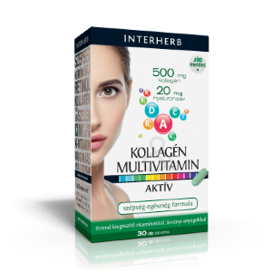 INTERHERB Kollagén&Hyaluronsav Multivitamin
