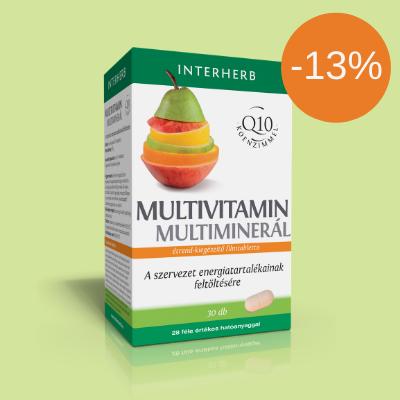 INTERHERB Multivitamin & Multiminerál 30 db
