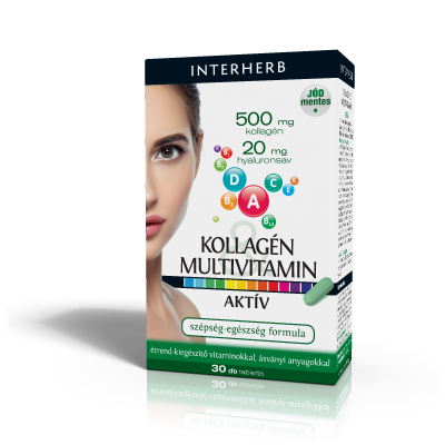 INTERHERB KOLLAGÉN & MULTIVITAMIN AKTÍV 30 db