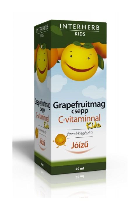 A C-vitaminra standardizált, flavonoidokban gazdag Grapefruitmag csepp KIDS egy jóízű, alkoholmentes készítmény, amely minden korosztály számára ideális.