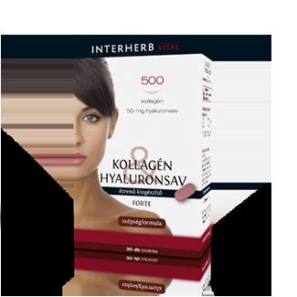 INTERHERB Kollagén&Hyaluronsav Forte szépségformula