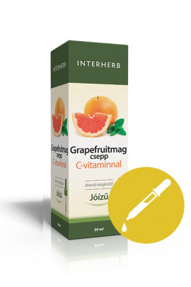 INTERHERB Grapefruitmag csepp C-vitaminnal 20ml