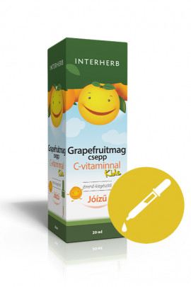 INTERHERB Grapefruitmag csepp KIDS C-vitaminnal 20ml