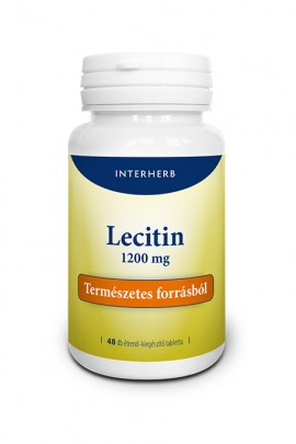 INTERHERB Lecitin kapszula 48db