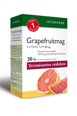 INTERHERB NAPI1 Grapefruitmag Extraktum 50 mg 30db