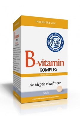 INTERHERB B-vitamin KOMPLEX tabletta 60db