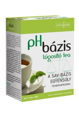 INTERHERB pH BÁZIS lúgosító tea 100g