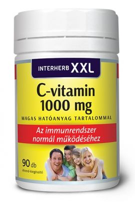 INTERHERB XXL C-vitamin 1000 mg 90 db