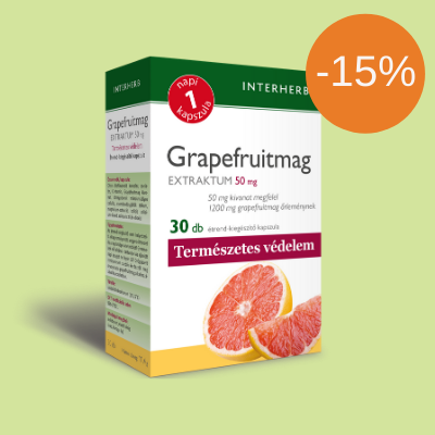 INTERHERB NAPI1 Grapefruitmag Extraktum 50 mg 30 db